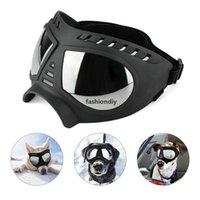 ZC Dog Goggles Sunglasses Uv Protection Windproof Snowproof Pet Eye Wear Medium Large Dog Swimming Glasses Jk2005kd