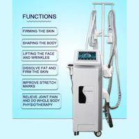 다기능 Ultherapy S 모양 기계 전문 바디 슬리밍 장비 건강 및 뷰티 케어 모노 폴라 양극성 RF 적외선 라이트 테라피 가정용