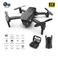 UAV IDG Yeni R16 4 K HD Çift Lens Mini Drone WiFi 1080 P Gerçek Zamanlı Şanzıman FPV Drone Katlanabilir RC Quadcopter Oyuncak Q0602