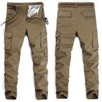 Мужские брюки комбинезоны, спортивные и досуг брюки, небольшая прямая трубка тонкий, многокомпонентный модные растягивающие джинсы