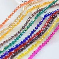 3 4 6mm Autriche Perles de verre Bicone à facettes pour bijoux Faire des accessoires de bricolage Crystal Lock Spacer Beads Beadsale Z219 1761 Q2