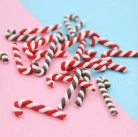 Decoration Kawaii Resin DIY Scrapbooking Cute Clay Candy Christmas cane Craft