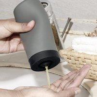 Botellas de almacenamiento Tarros Grandes Recargables para el desinfectante Loción Contenedores 240 ml Dispensador de jabón Silicona Tubo Soft Tubo Cuarto de baño Gel Vacío Busto