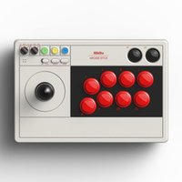 8bitdo Arcade Stick джойстик динамическая кнопка Ultimate Software Turbo Bluetooth 2.4G и проводное подключение для коммутатора Windows Game Control