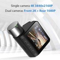 Car Dash Cam 4K G Sensor Video Recorder 170 Degree Wide Angle Overturn Loop Video Camera WIFI Night vision front Rear Dashcam
