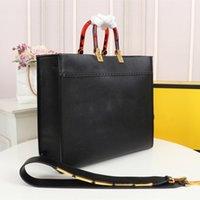 Luxurys Designer Handtaschen Abendtaschen Schulter Shopper Totes Tasche Hohe Qualität Shopping Leder Material Bernstein Doppelgriff Große Kapazitätsbrief