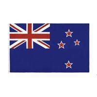 Neuseeland Flagge Banner 3ft x 5ft Hängende Flagge Polyester Neuseeland Nationalflagge Banner Outdoor 150x90cm Für HWD8199