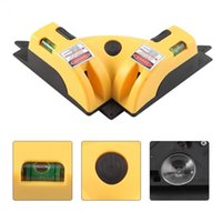 90 Degree Right Angle Square Mini Niveau Laser Lazer Level Measurement Tool Leveler Construction Electronic Measuring Instrument
