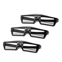 안경 ABGN -3PCS / LOTS 준비 프로젝터 용 전문 유니버셜 DLP 링크 셔터 활성 3D
