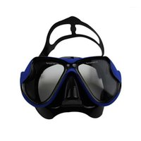 다이빙 마스크 도매 - 전문 수상 스포츠 Spearfishing 근시 및 고게피아 기어 수영 고글 마스크 1