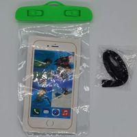 휴대 전화 야외 방수 케이스 가방 스마트 폰 PVC 보호 파우치 케이스 드리프트 다이빙 수영 스포츠 비치 풀 스키 스키 수중 드라이 가방
