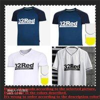 20 21 22 22 Derbyshire Soccer Jersey Sportswear 2021 2022 Uniforme da uomo Casa Bianco Away Blu Camicia da calcio personalizzata