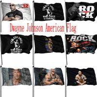 2024 Cumhurbaşkanlığı Seçim Bayrağı Banner Dayne Johnson Amerikan ABD Başkanı Bayrak Açık Kapalı 150 * 90 cm 3x5ft DHL Nakliye