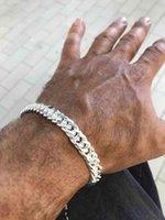 Bangle Bracelet 10mm Husband s Gifts 925 Sterling Silver Women Chain Fashion Men's Jewelry Handsome Men