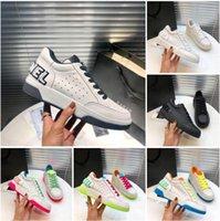2021 Designer Luxus Turnschuhe Frauen Casual Schuhe Sommer Mode Classic Party Leder Kalbsleder Schuh mit Kastengröße 35-40