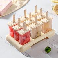 Outil de crème glacée Moule à glace, machine professionnelle, accessoires de cuisine à plateaux. 0630