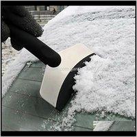 Spade Pala Durable Scaper Windshield Ice Retire la herramienta de limpieza de ventana limpia Accesorios de lavado de autos de invierno Removedor de nieve MORMT RWC7D