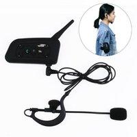 Outdoor-Sporttraining Pro Bluetooth Mono-Schiedsrichter Intercom Interphone Headset Fußballwerkzeug Taktisches Zubehör