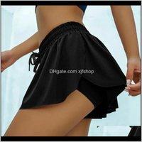 Yoga Outfits Hohe elastische Womens Schnelltrocknung Slim Atmungsaktives Training Fitness Shorts Spodenki Damskie Yaglj LQ2D4