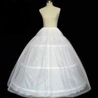 3 Hoops Bridal Crinolines Petticoat Womens Skirts Bustle Wedding Dress Underskirt