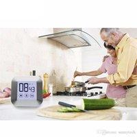 TouchScreen ЖК-дисплей цифровой кухонный таймер Практичная кулинария Таймер обратного отсчета Подсчет будильник кухня (не аккумулятор) RRD7532