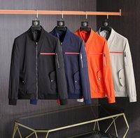 Лучший дизайнер мужской куртки роскошный повседневный солнцезащитный крем ветровка высокого качества открытая одежда M-2XL
