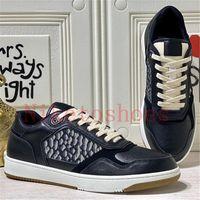 B27 Tênis Low-top Oblique Mens Sapatos Luxo Luxurys Luxurys Designers Sneakers Lace-up Técnico de Borracha Técnica 27 Couro Sapato Casual