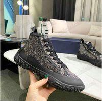 B28 High Designer Herren Sneakers 21 ss schräg Jacquard Italy Lace-up-Plattform B28 Niedrig-Top-Druck Technische Leinwand-Trainer-Läufer atmungsaktive Freizeitschuhe