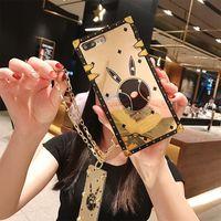 Качественный дизайнер моды для iPhone 12 Pro Max Case Case 12 Mini 11 Max XR XS 7 8 плюс PU кожаные телефонные оболочки для Samsung S9 S10 Plus S10E Note 9 10 Отправить DHL