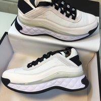 الفرنسية الشهيرة CCS أحذية العلامة التجارية للرجال والنساء عارضة التفاعلية في الهواء الطلق للماء والتنفس زيادة صغيرة أبيض أحذية رياضية أحذية قديمة