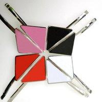 Großhandel Metall Dreieck Haarclip mit Stempel für Mädchen Mädchen Dreieck Brief Haarspange Mode Haarschmuck Hohe Qualität