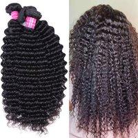 Brazilian Straight Virgin Human Hair Bundles Unprocessed Indian Hair Body Water Wave Extensions Deep Wave Bulk Order