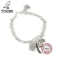 S'Seel Braccialetti in argento sterling da donna Polseras Platas Plata de Ley Mujer Braccialetto ARGENTO MASSIF POUR FEMME semi joias de luxo 210525