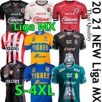 Liga MX 2021 Calcio Jersey Club Leon Tigres Uanl Necaxa Tijuana Camisetas Hombres Chándal de Fútbol Men Kit Camicia da calcio