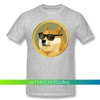 Men's T-Shirts Men Clothing Dogecoin Shirt Doge Coin Funny Crypto Design Tshirt Apparel Fashion Short Sleeve For Adult Oversize T-sh