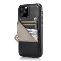 아이폰 12 11 Pro Max XR XS SE 6S 7 8 플러스 핸드폰 보호 커버 울트라 얇은 초소형 카드 포켓 전화 케이스