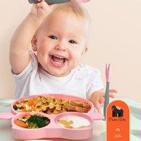 Качественные детские тарелка посуда для домашнего мультфильма силиконовые присоски типа Дополнительный пищевой чаша C1L2