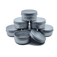 Storage Bottles & Jars 50pcs 50g Metal Aluminum Can, Lipstick Container, Empty Cream Candle Can
