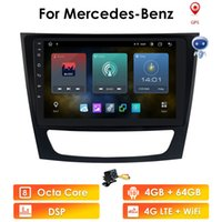 Android 10 2 din car player For Mercedes Benz E-class W211 E200 E220 E300 E350 E240 E270 E280 CLS CLASS W219 multimedia gps navi