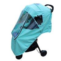 Stroller Parts & Accessories Pushchair Storage Pockets Waterproof Linen Baby Strollers Universal Zipper Dust Shield Warm Rain Cover Windproo