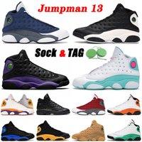 nike air jordan retro 13 Top Flint 13 13s Jumpman 2021 وصول أحذية كرة السلة المحكمة الأرجواني XIII Soar Green Reverse حصل على لعبة Hyper Royal Trainers أحذية رياضية