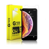 2.5d 9h Tempered Glass Screen Protector custom For Iphone 12 pro max 11 XR X XS 8P 0.33mm