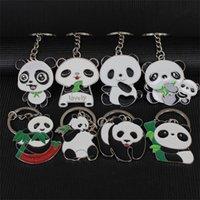 Lovely Panda Keychain Keyring Backpack Pendant Wholesale Key Holder Cheap Wedding Promotion Gift 706 B3