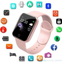 fashion mini Y68 D20 Smart Watch Fitness Bracelet Blood Pressure Heart Rate Monitor Pedometer Cardio Bracelets Men Women Smartwatch with packing box for IOS Android