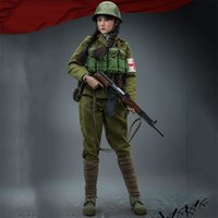 1/6 Bilancia People cinesi Liberation Army Dieci Sisters Rescue Team Femminile Soldato 12 pollici Action Figure Toy Collection