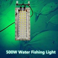 Fischfinder LED High-Power 500W Angelbirnenlöste Lampe Set Squid Spot 2000W