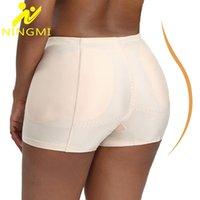 Women's Shapers NINGMI BuLifter Hip Enhancer Shaper Panties Women Body Shapewear Control Seamless Shaping Sexy Ass Padded