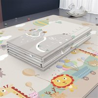 Baby Cribs Waterproof Play Mat Room Decor Home Foldable Child Cling Double-sided Kids Rug Foam Carpet Game Playmat