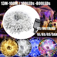 LED Christmas Strings Light Low Voltage UL Certified Power Supply 108ft 300LEDs String Fairy Lights with 8 Lighting Effects for Indoor outdoor Holiday Decorations