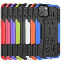 2 in 1 Hybrid KickStand Impact Rugged Heavy Duty TPU+PC Shock Proof case Cover FOR IPHONE 13 PRO MAX 11 12 XS MAX 6 7 8 PLUS 50PCS/LOT